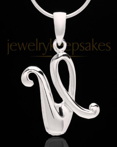"Silver Plated ""U"" Keepsake Jewelry"