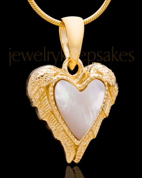 Gold Plated Divine Moments Heart Keepsake Jewelry