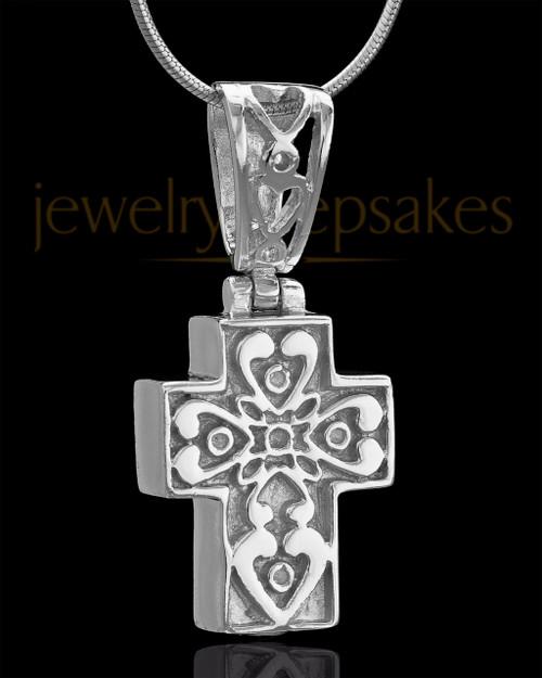 Sterling Silver Esteemed Cross Keepsake Jewelry
