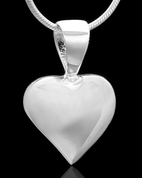 Sterling Silver Bursting Heart Keepsake Jewelry