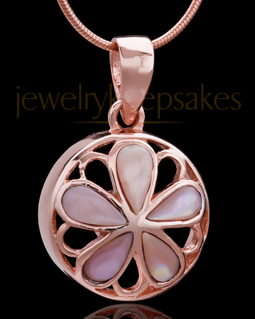 Rose Gold Plated Eden Keepsake Jewelry