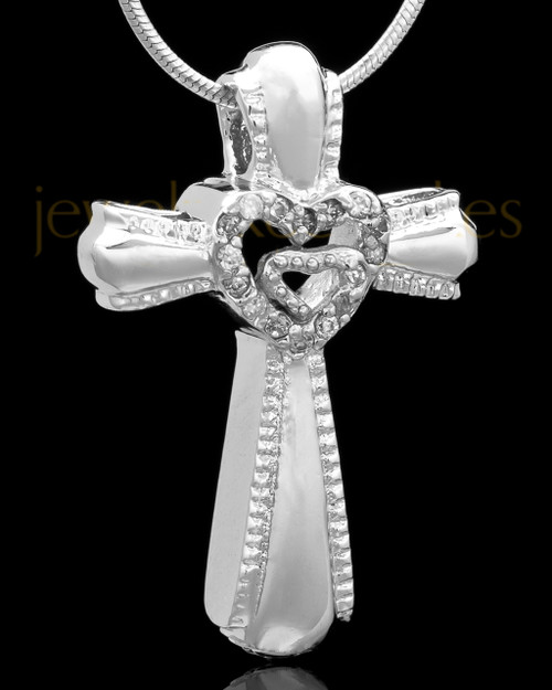 Sterling Silver Cross of Love Keepsake Jewelry