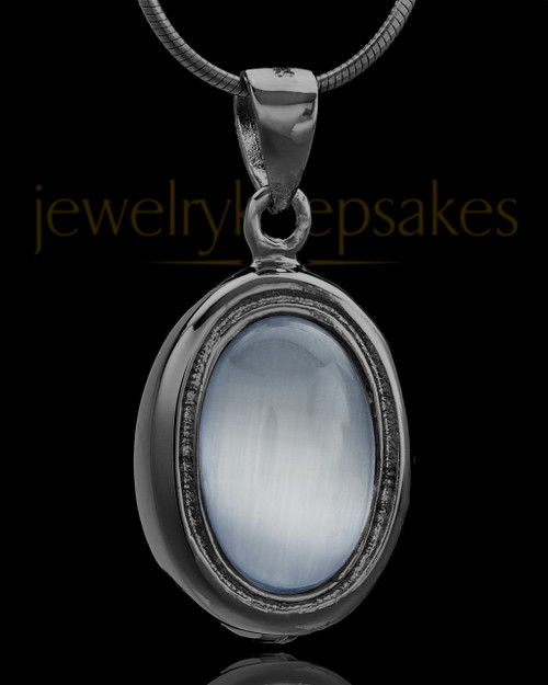 Black Plated Blush Love Keepsake Jewelry