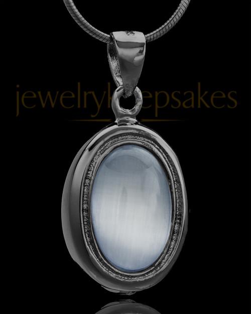 Black Plated Blush Love Keepsake Jewelry