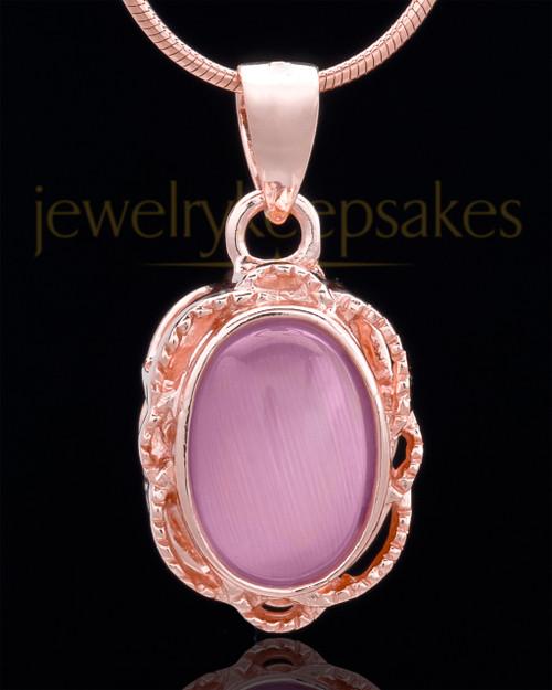 Rose Gold Plated Embers Keepsake Jewelry