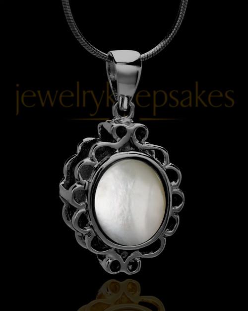 Black Plated Guardian Keepsake Jewelry