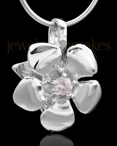 Sterling Silver Blooming Keepsake Jewelry