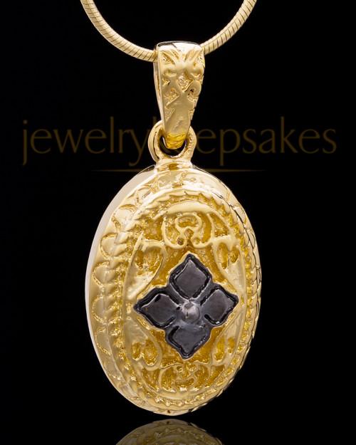 Gold Plated Faithfulness Keepsake Jewelry