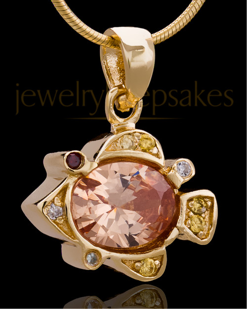 Gold Plated Under the Sea Keepsake Jewelry