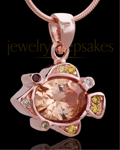 Rose Gold Plated Under the Sea Keepsake Jewelry