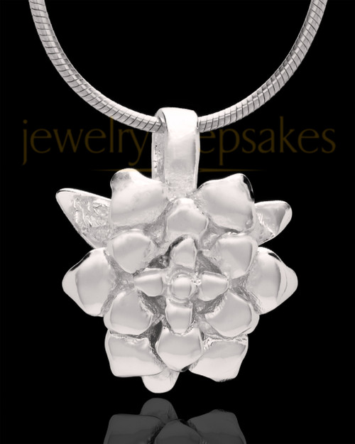 Silver Plated Blossomed Keepsake Jewelry