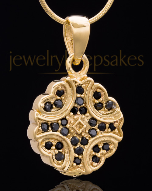 Gold Plated Brilliance Keepsake Jewelry