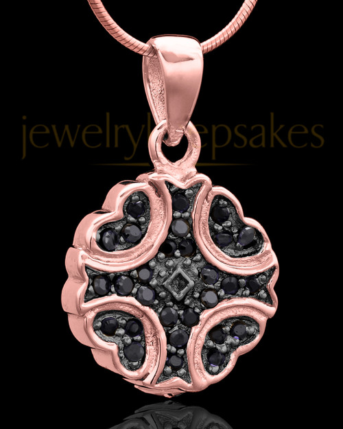 Rose Gold Plated Brilliance Keepsake Jewelry