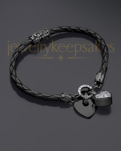 Black Plated Always Bracelet Keepsake