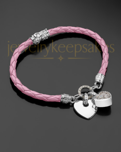 Always Pink and Silver Bracelet