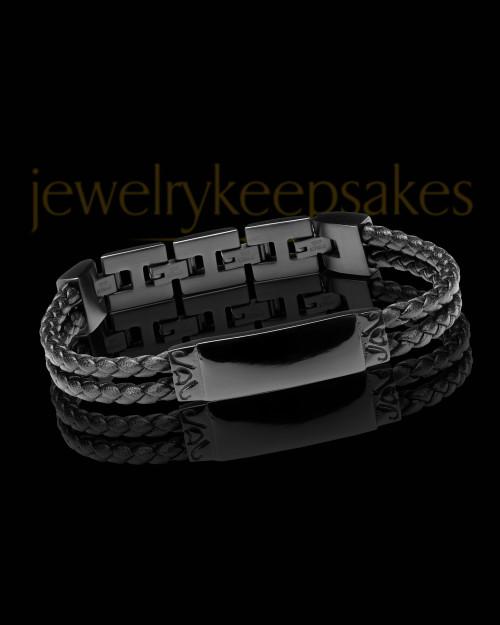 Black Plated Remember Me Bracelet Keepsake Jewelry