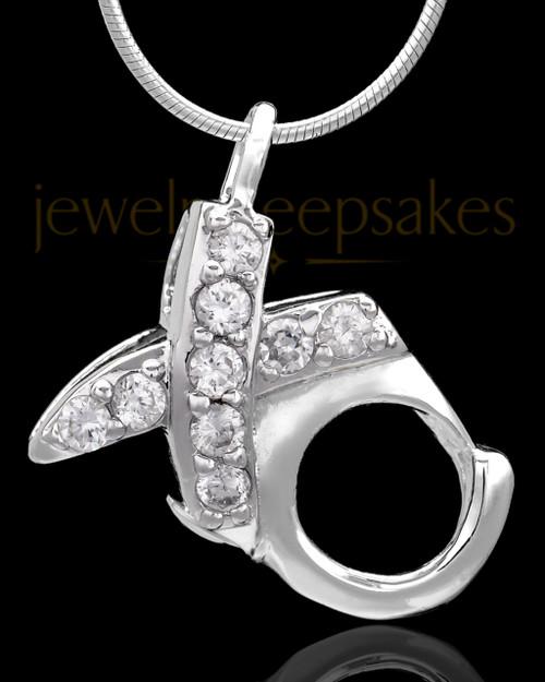 Sterling Silver Hugs and Kisses Keepsake Jewelry