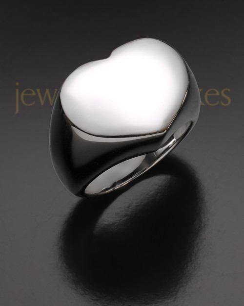 Ladies Silver Devotion Ring Keepsake Jewelry