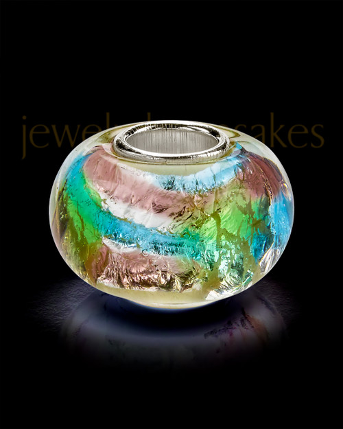 Glass Flowing Waters Charm