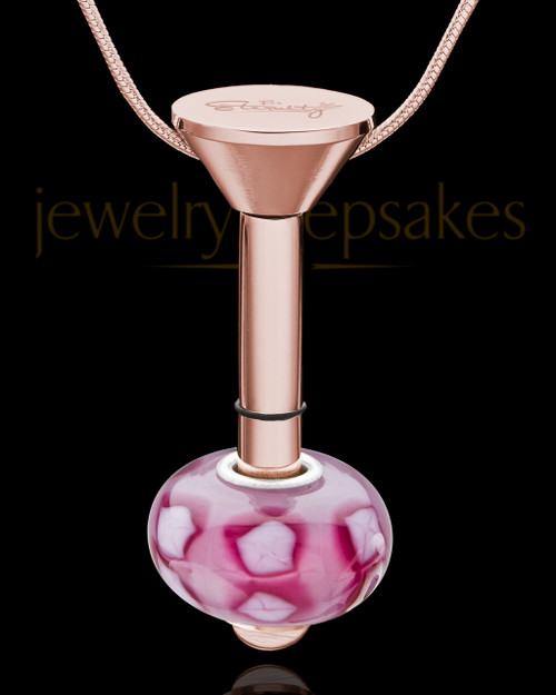 Millenium Keepsake Jewelry in Rose with Kindly Charm