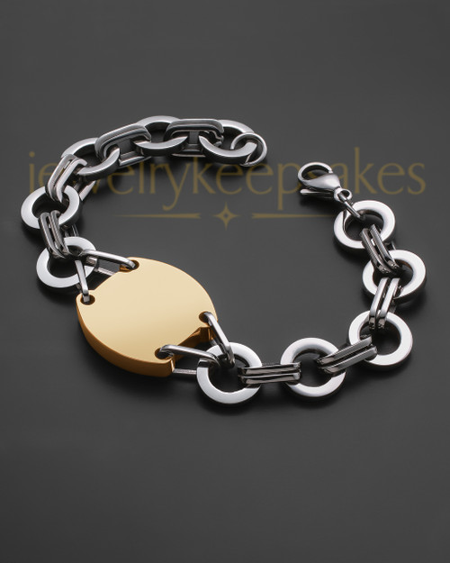 Dedicated Gold Plated Bracelet