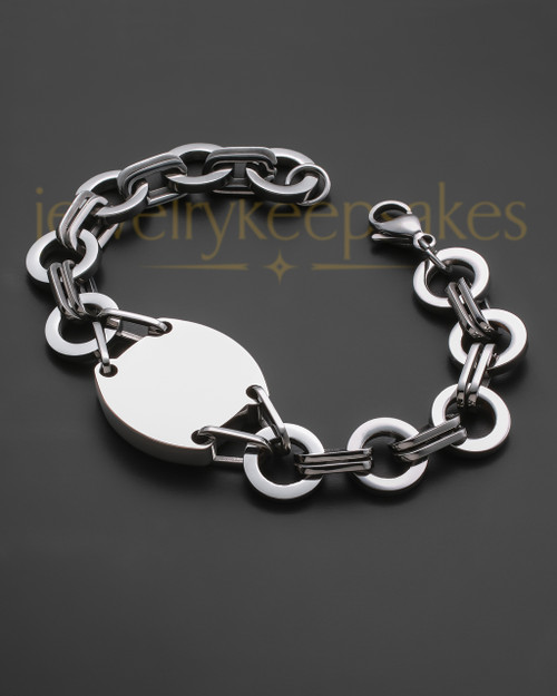 Dedicated Bracelet in Stainless