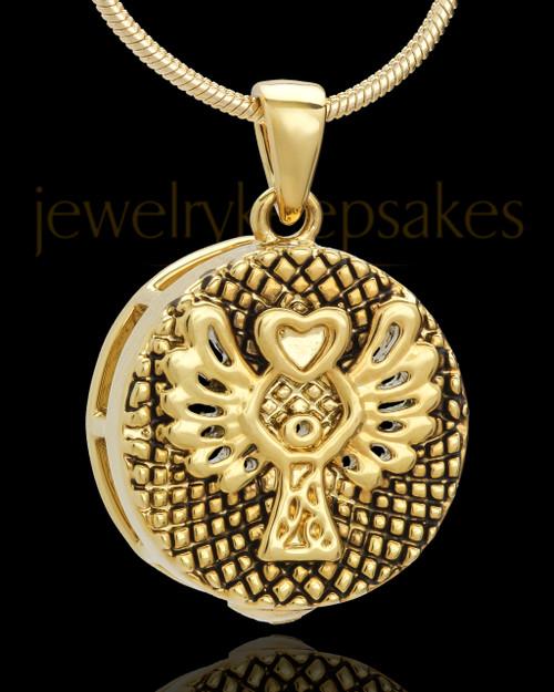 Gold Plated Praise Keepsake Jewelry
