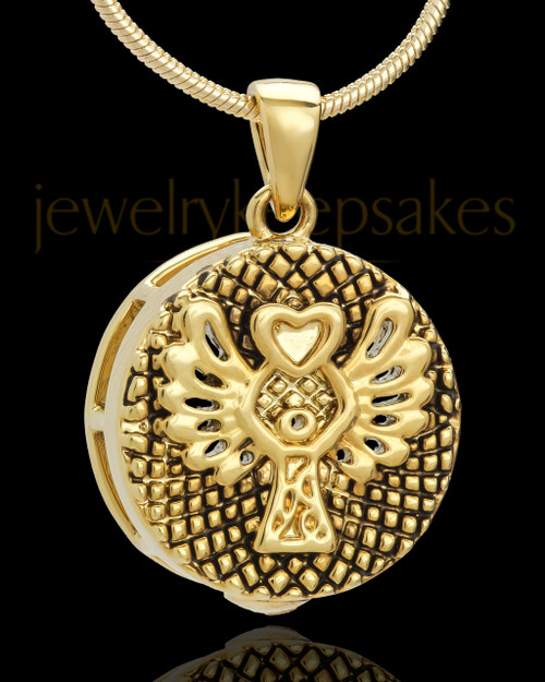 Gold Plated Praise Keepsake Jewelry