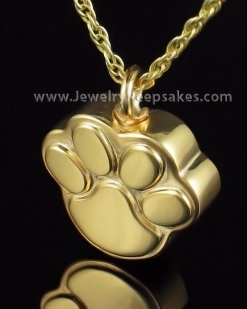 Funeral Jewelry Gold Plated Best Buddy Keepsake
