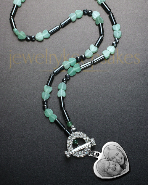 Leila Necklace with Silver Accent Heart