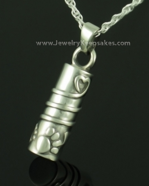 Pet Jewelry Urn Sterling Silver Comrade Keepsake