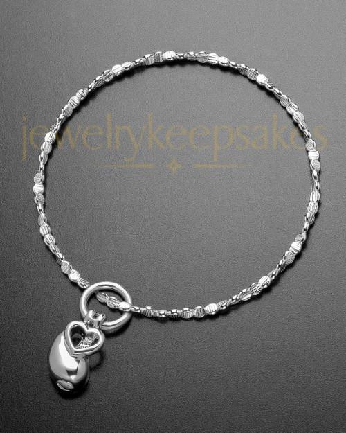Luxury Together as One Memorial Sterling Bracelet