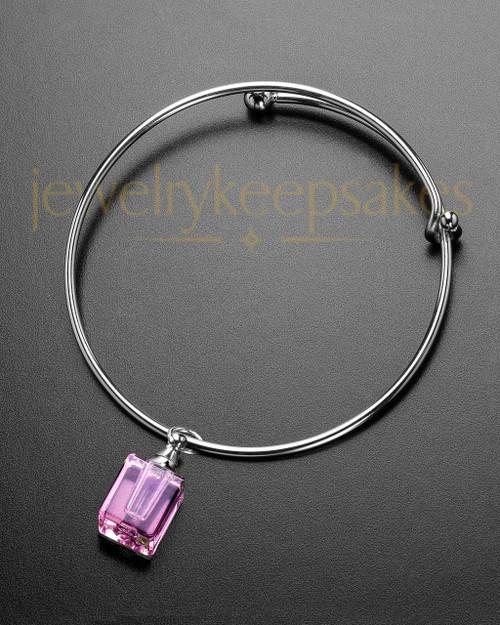 Sophisticate Pink Darling Cremation Bracelet
