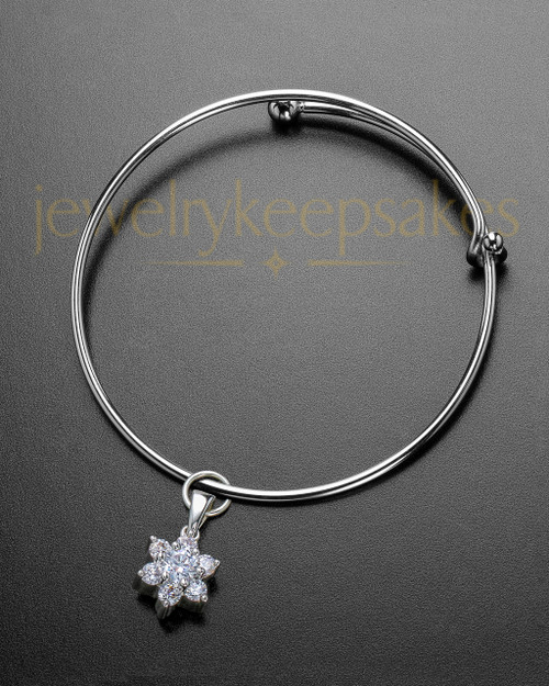 Sophisticate Burst of Light Cremation Bracelet