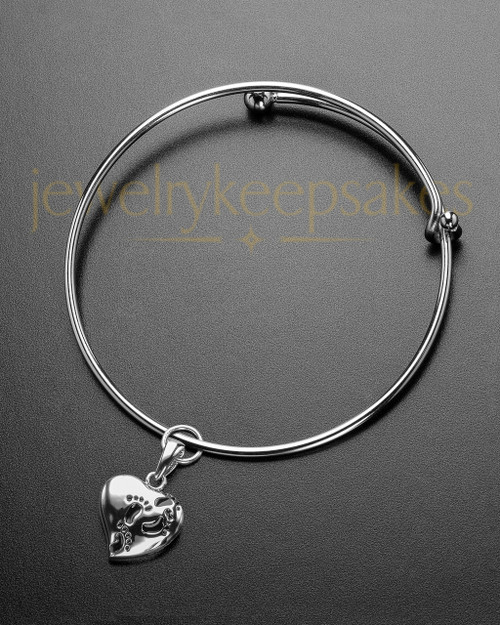 Sophisticate Journey To My Heart Cremation Bracelet
