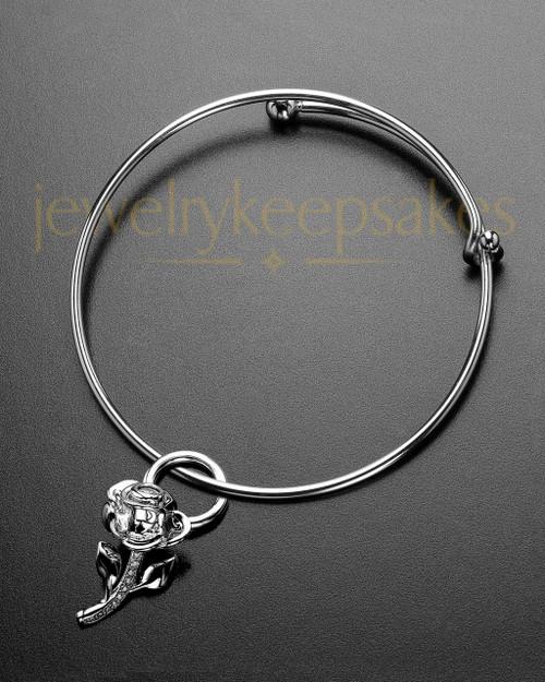 Sophisticate Confident Rose Remembrance Bracelet