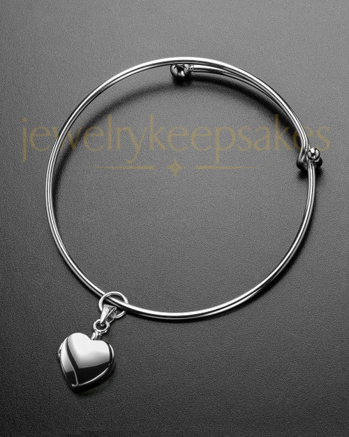 Sophisticate Gentle Heart Memorial Bracelet
