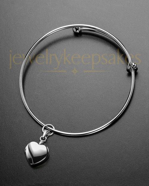 Sophisticate Gentle Heart Memorial Bracelet