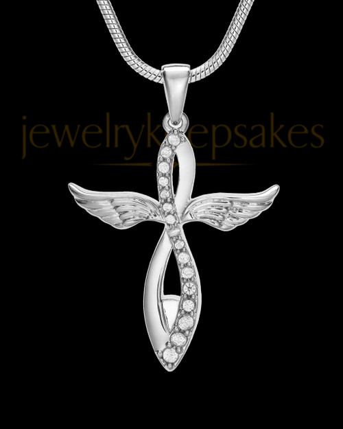 Sterling Silver Glorified Cremation Jewelry