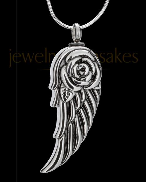 Stainless Steel Lovebird Jewelry Urn