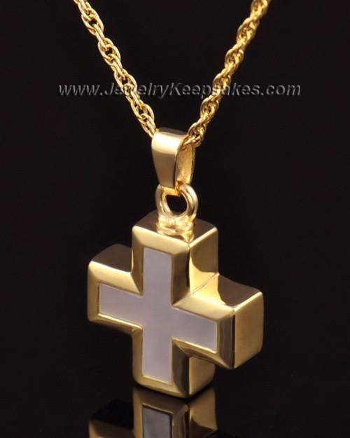 Keepsake Jewelry 14k Gold Heavenly Cross