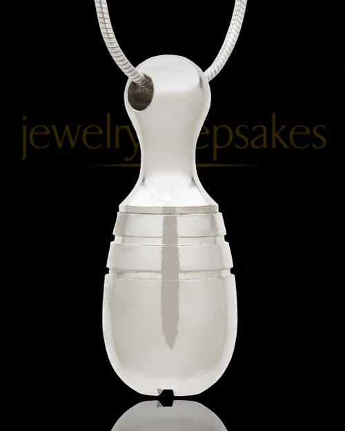 Silver Plated Memorial Necklace Delight