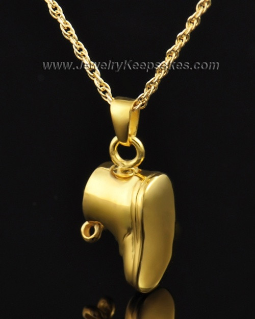 Keepsake Pendant Gold Plated Lil Booty