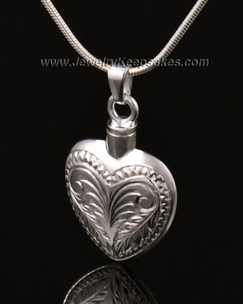 Ash Jewelry 14K White Gold Darling Heart