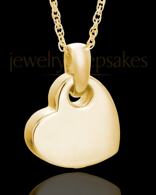 Keepsake Jewelry Gold Plated Charming Heart