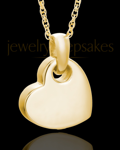 Keepsake Jewelry Gold Plated Charming Heart