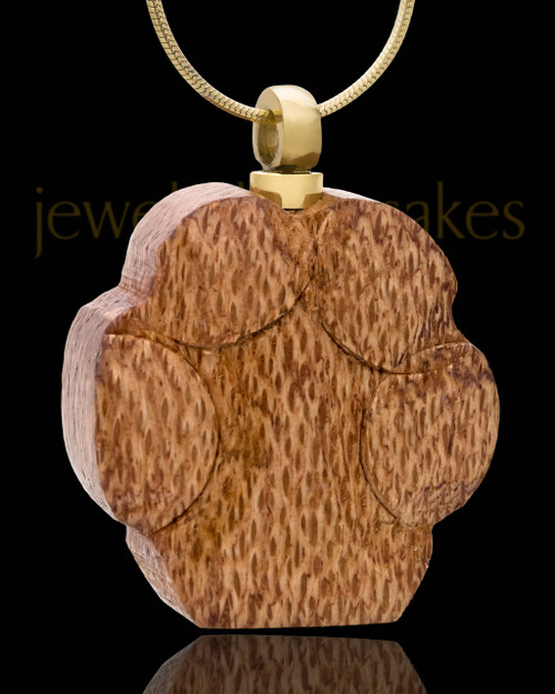 Ash Pendant Wood Love My Paw - Eternity Collection