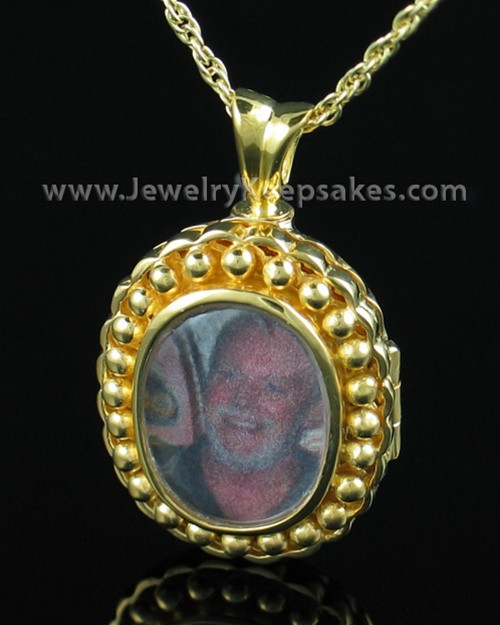 Cremation Keepsake Gold Vermeil Faith