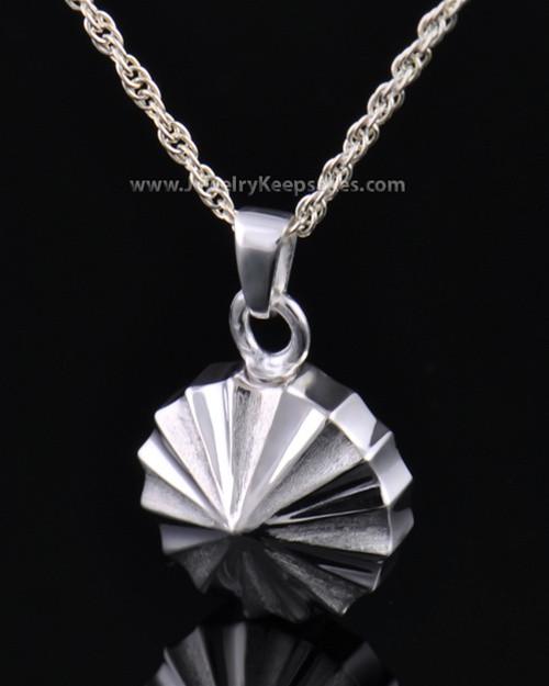 Memorial Urn Jewelry Sterling Silver Pinwheel Keepsake