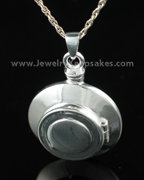 Cremation Necklace Sterling Silver Piety Keepsake